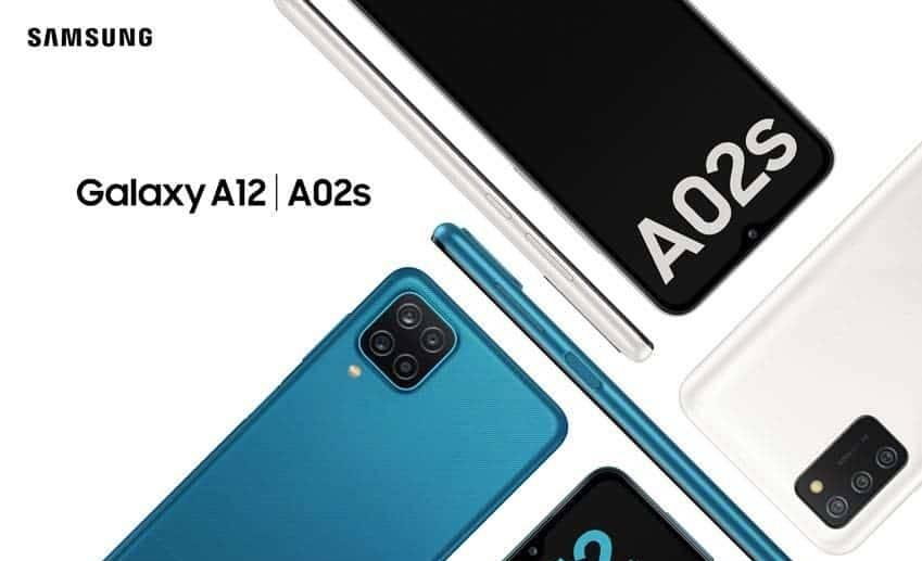 Samsung Galaxy A12 ve Galaxy A02s tanıtıldı! İşte fiyatları