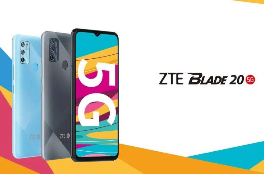 ZTE Blade 20 5G tanıtıldı! İşte fiyatı ve özellikleri