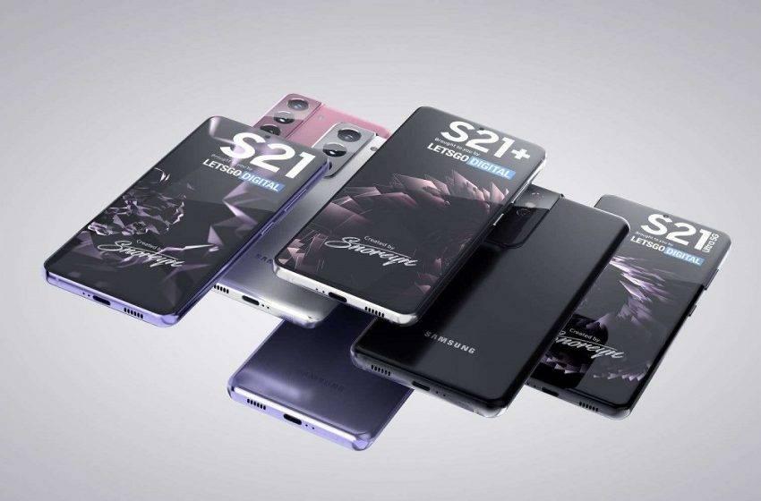 Samsung Galaxy S21 serisi ekran tasarımları ortaya çıktı
