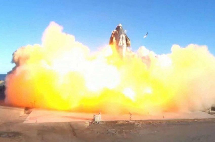 SpaceX Starship roketi patladı! (VİDEO)