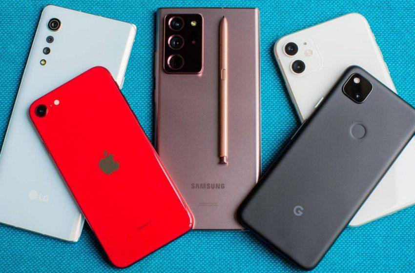 Akıllı telefon sevkiyatları 2020 yılında düştü