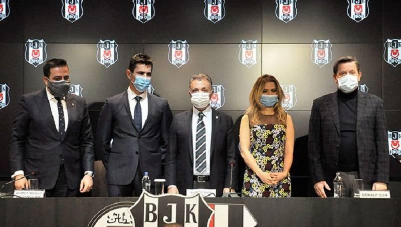 Beşiktaş Icrypex ile sponsorluk anlaşması imzaladı