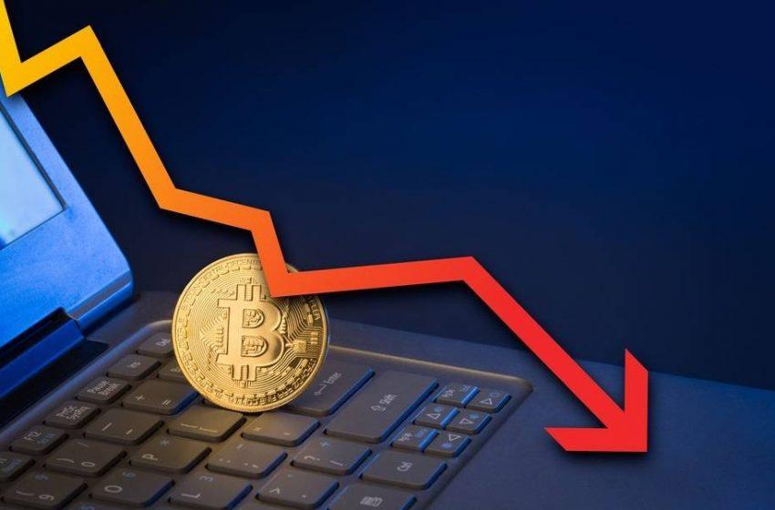 Bitcoin sert düşüş yaşadı!