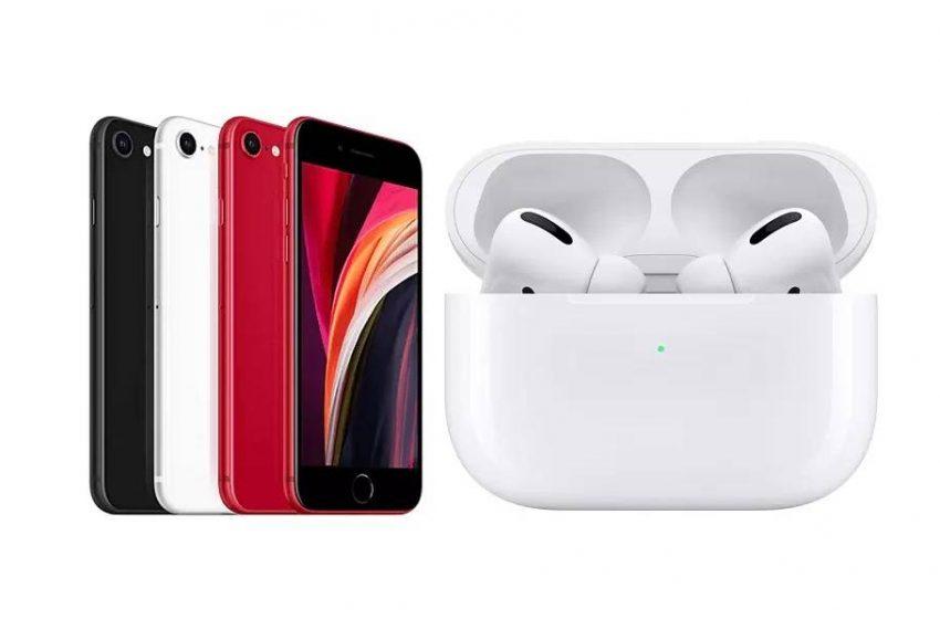 iPhone SE 2021 ve 2. nesil AirPods Pro Nisan'da karşımıza çıkabilir