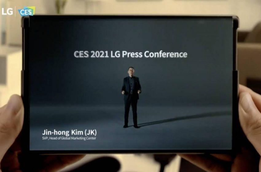 LG katlanabilir telefon modelinin tanıtım tarihi iddiası!