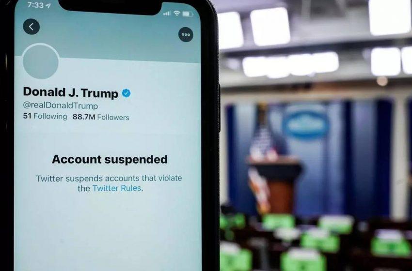 Twitter Donald Trump'ın hesabını kaldırdı
