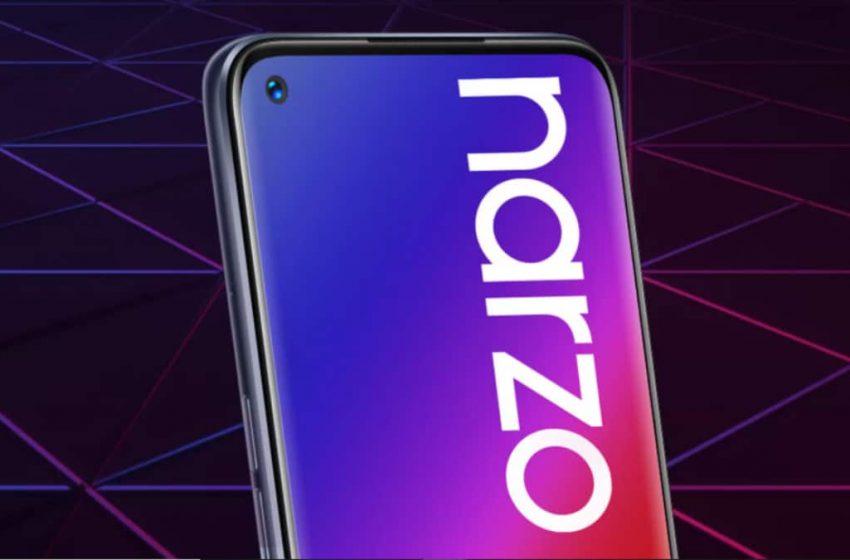 Realme Narzo 30 Pro 5G CEO tarafından gösterildi