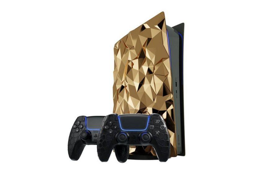 500 bin dolarlık altın kaplama PlayStation 5!