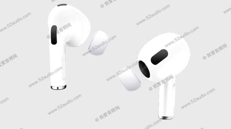 Apple AirPods 3 tasarımı sızdırıldı