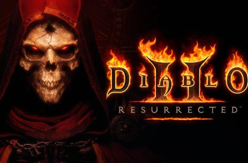 Diablo II yeniden düzenleniyor! Diablo II Resurrected