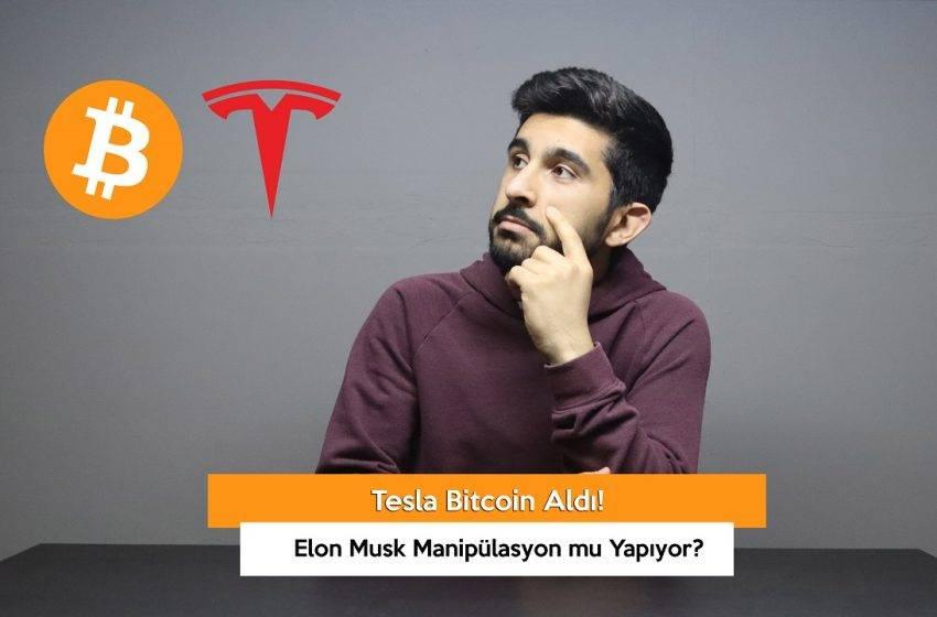 Tesla Bitcoin Aldı! Elon Musk Manipülasyon mu Yapıyor? (VİDEO)