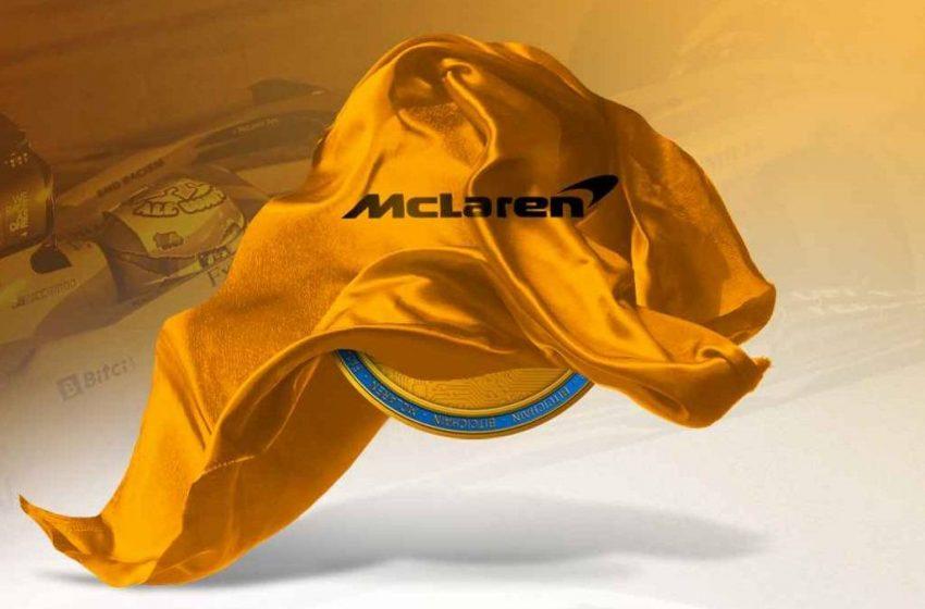 Bitci McLaren ile anlaştı! İlk F1 token geliyor