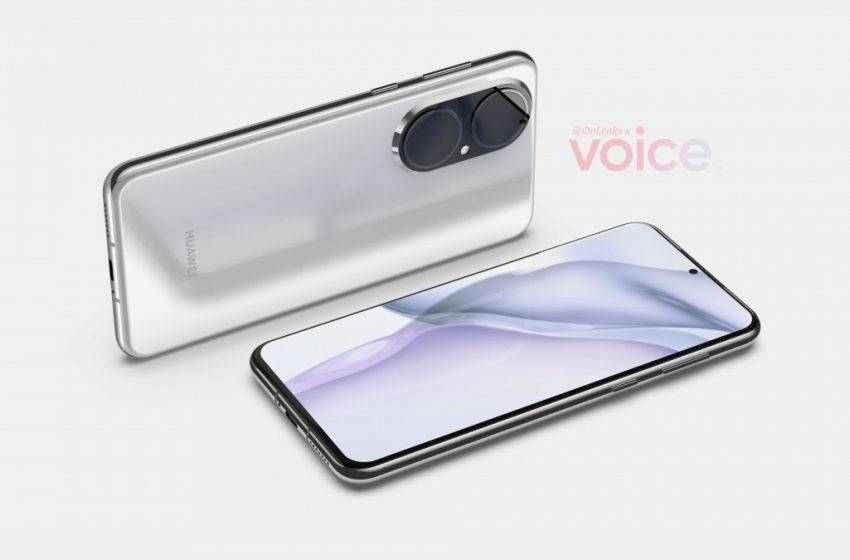 Huawei P50 tasarımı ortaya çıktı!