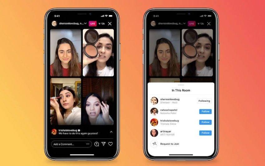 Instagram Live Rooms tanıtıldı! İşte detaylar