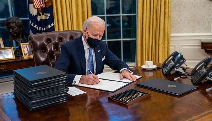 Joe Biden teşvik paketini imzaladı