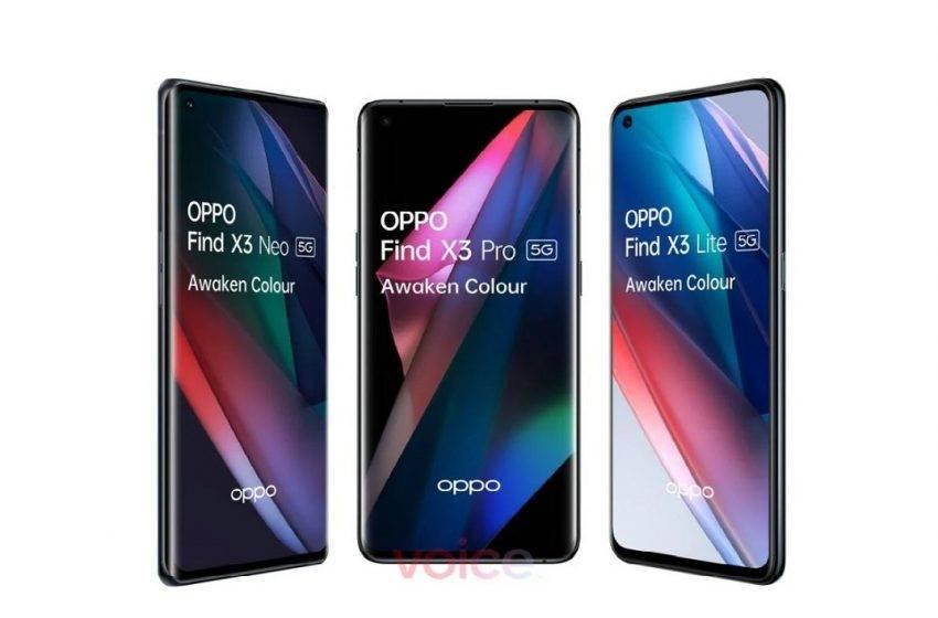 Oppo Find X3 serisi özellikleri ve tasarımları sızdırıldı!