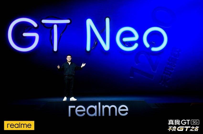 Realme GT Neo geliyor! Tarih verildi