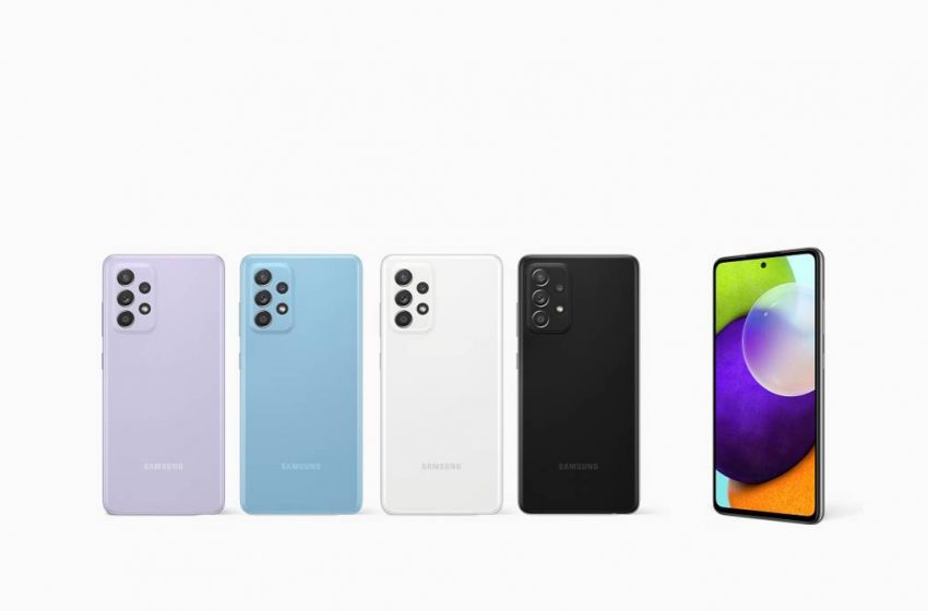Samsung Galaxy A52 ve Galaxy A72 Türkiye fiyatları belli oldu