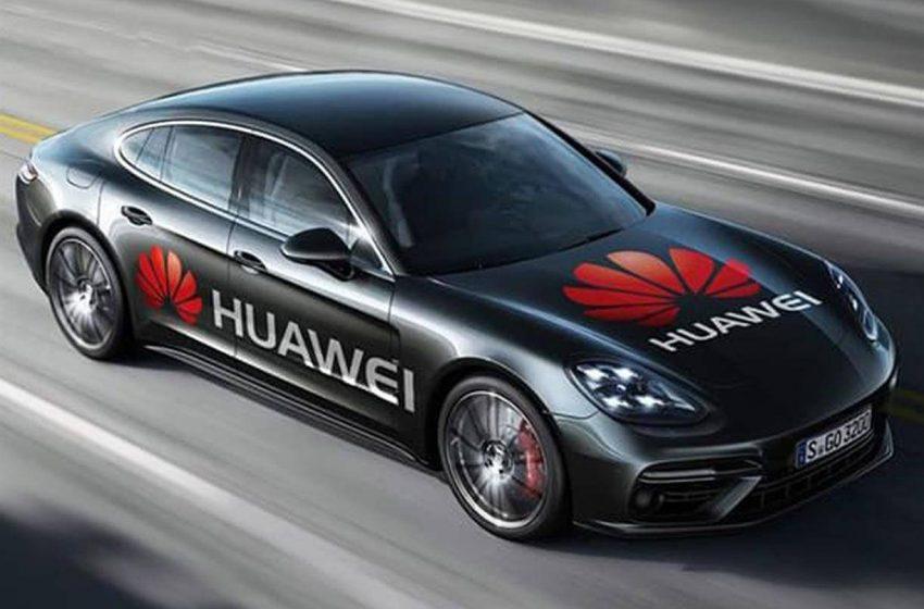 Huawei araba modeli Tesla'dan uzun menzille geliyor