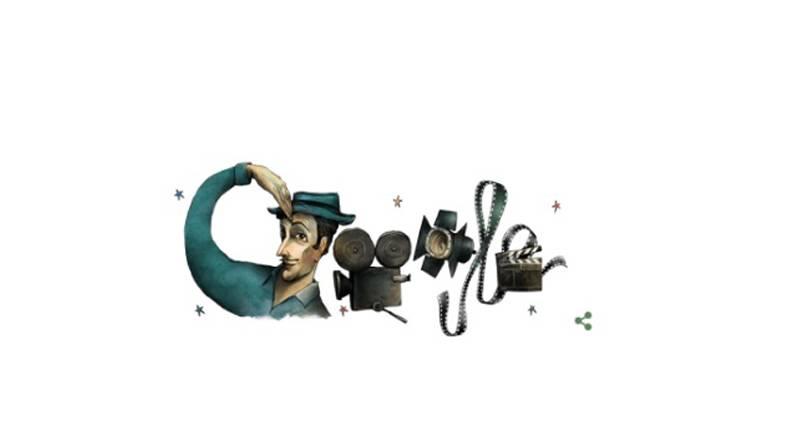 Sadri Alışık Google Doodle oldu!