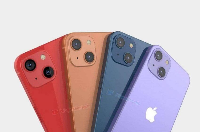 iPhone 13 tasarımından yeni görüntüler geldi