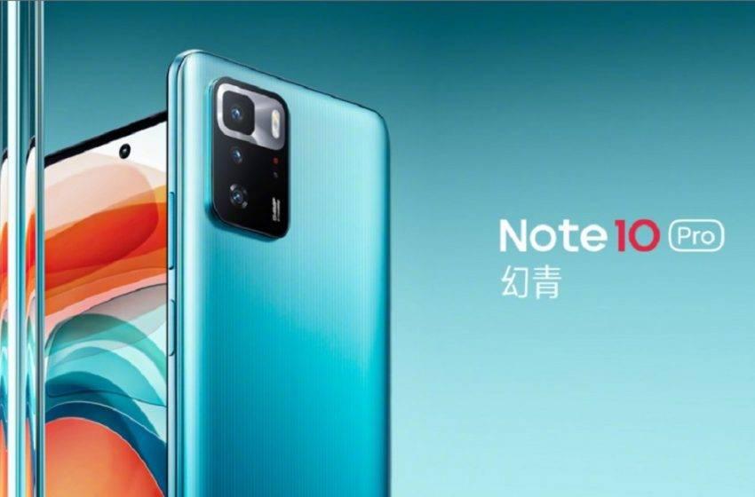 Redmi Note 10 Pro 5G tanıtıldı! İşte fiyatı