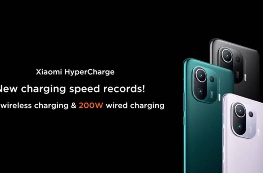 Xiaomi hızlı şarj devrimi yapıyor: HyperCharge