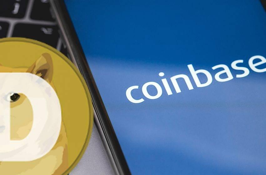 Dogecoin Coinbase'de listeleniyor