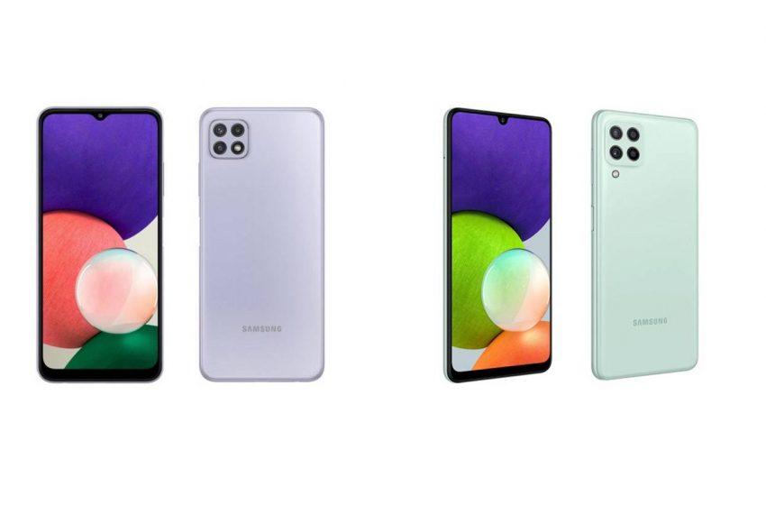 Samsung Galaxy A22 ve Galaxy A22 5G tanıtıldı!