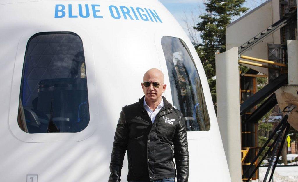 Jeff Bezos uzay