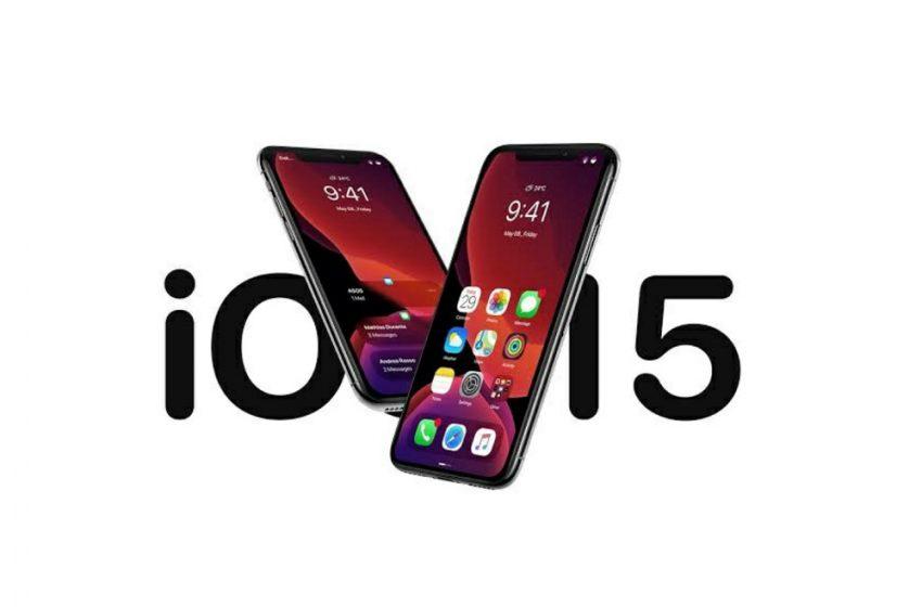 iOS 15 özellikleri netleşiyor!