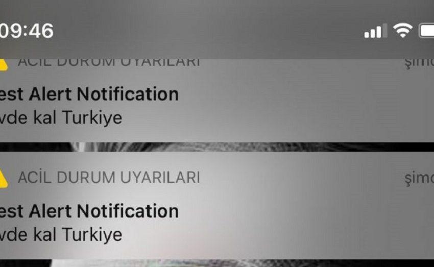 iPhone kullanıcıları acil durum uyarısıyla korktu!