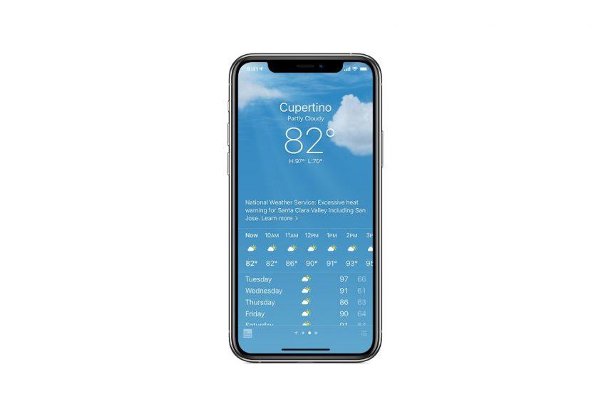iPhone hava durumu neden 69 sayısını göstermiyor?