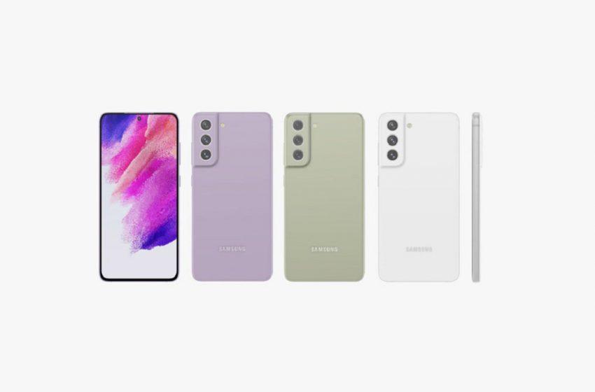 Samsung Galaxy S21 FE renkleri ortaya çıktı