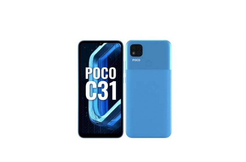 POCO C31 tanıtıldı! İşte fiyatı
